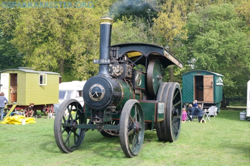 1652 at Fawley Hill Steam Rally 2013