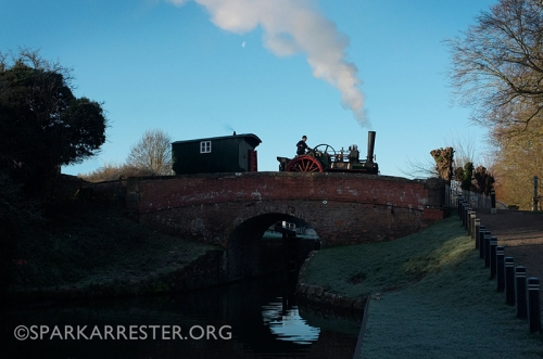 OT at Hungerford Lock Dec 2014
