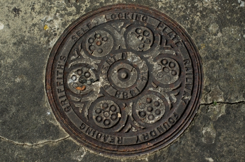 Cast Iron Drain cover